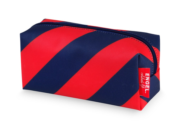Engel Pencil Case - Navy/Red