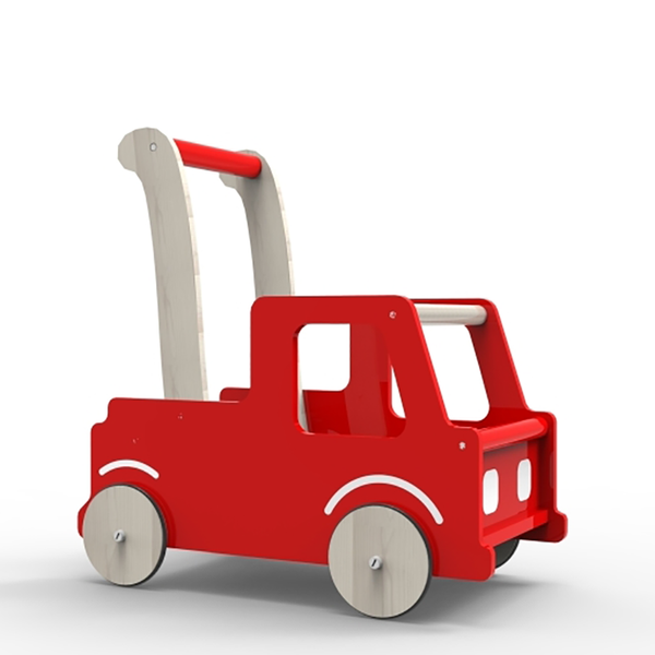 Moover LINE Truck Trolley - Red