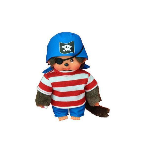 Monchhichi Doll - Pirate