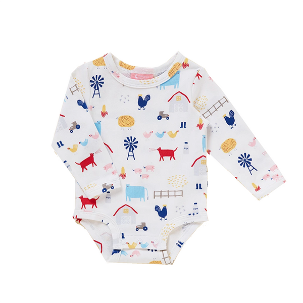 Halcyon Nights LS Bodysuit - Farm Life