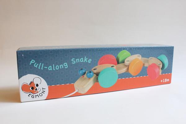 Wooden Pull-a-Long - Snake