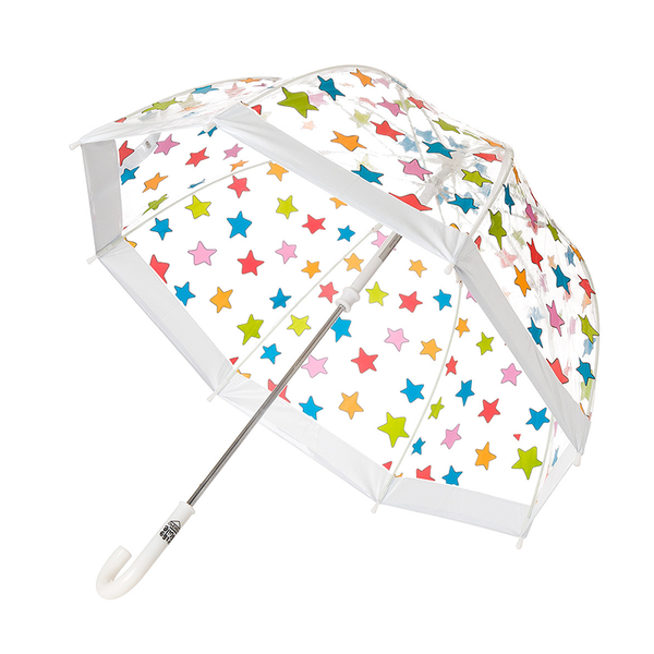 Birdcage Umbrella - Multi Stars