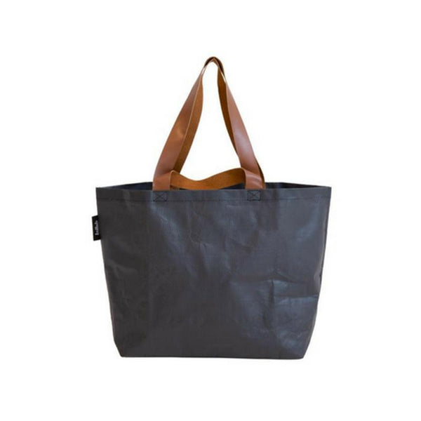 Kollab Poly Shopper Tote - Stealth Black