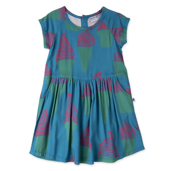 Minti Soft Serve Dress - Turquoise