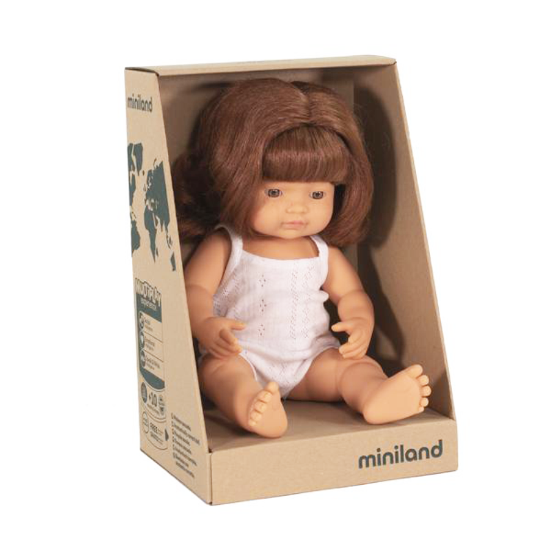 Miniland Doll - Large Caucasian Red Head Girl