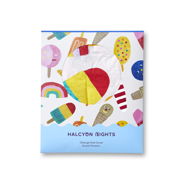 Halcyon Nights Change Mat Cover - Sweet Dreams