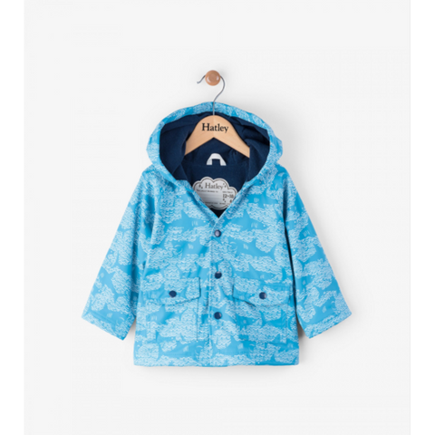 Hatley Raincoat Mini - Shark