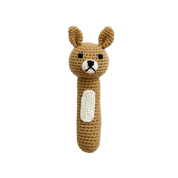 Miann & Co Hand Rattle - Latte Bunny