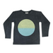 Zuttion L/S Round Neck T - Circle Gradation