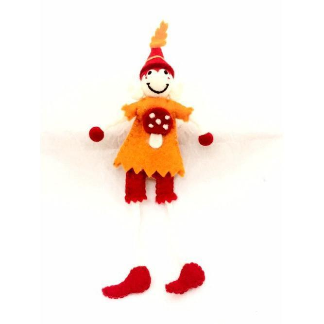Felt Mr Toadstool Elf Large