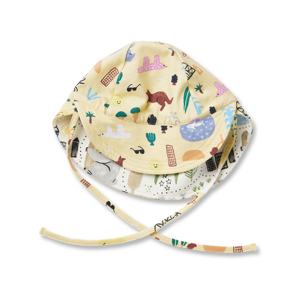 Halcyon Nights Reversible Hat - Sun City