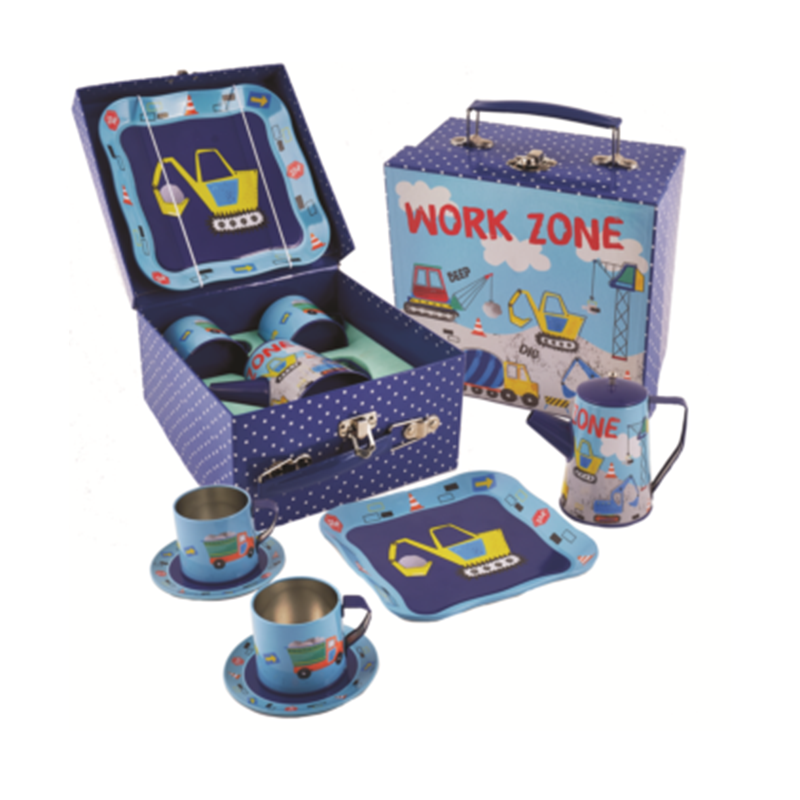 Floss & Rock Teaset - Construction