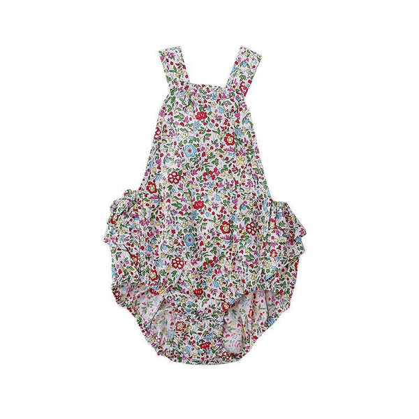 Peggy Jane Playsuit - Spring Floral at Shorties