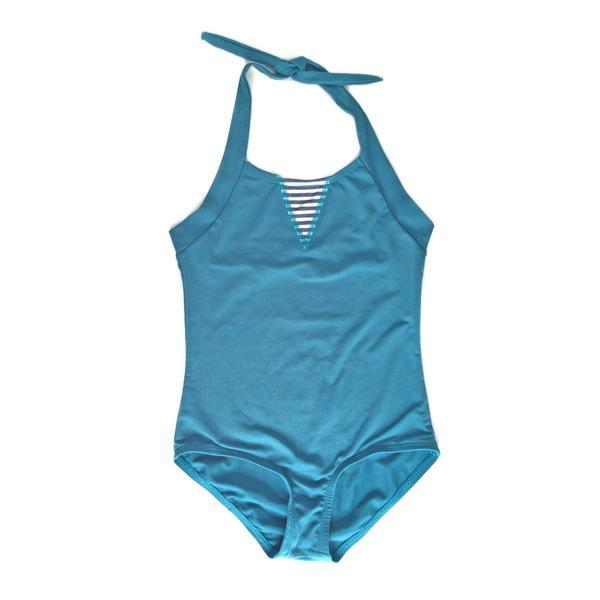 d7b0917f150 Alfie & Nina - Girls One Piece Bathers in Teal – Shorties Childrens ...