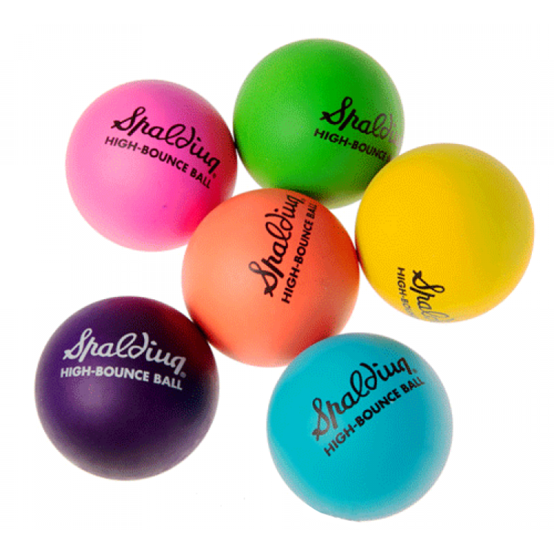 Spalding High Bounce Ball - Fluoro