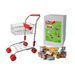 Metal Shopping Trolley with Groceries