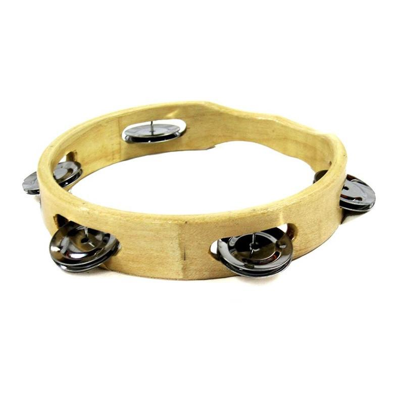 Wooden Tambourine Without Skin - 20cm