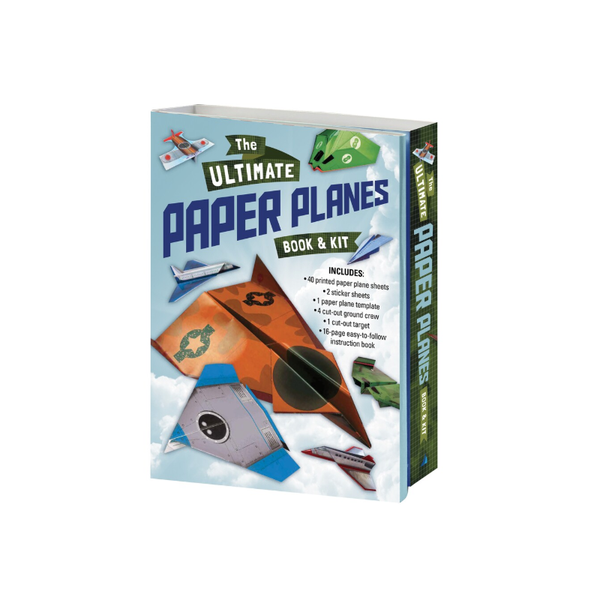 The Ultimate Paper Planes Book And Kit
