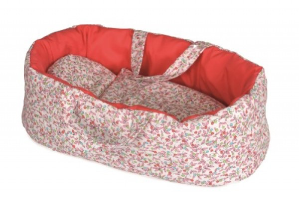 Dolls Carry Cot Large floral  - Olivia
