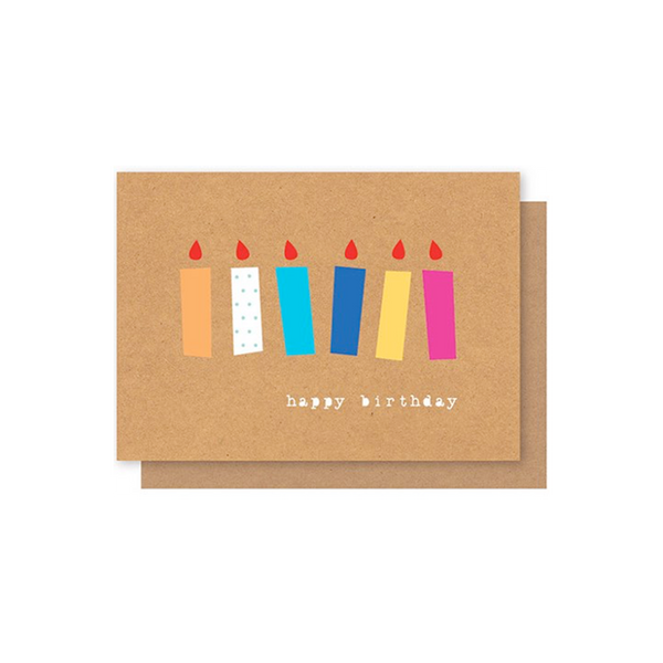 Elly Oak Card -Happy Birthday 6 Candles