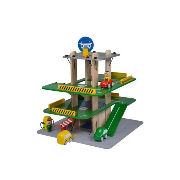Blue Ribbon Car Park Playset