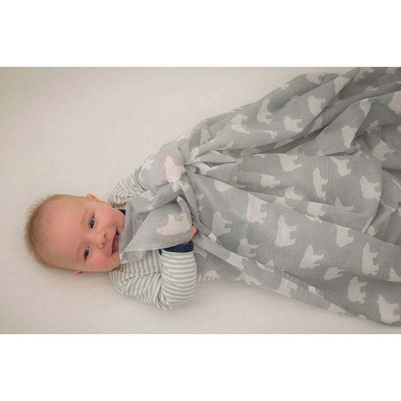 Emotion Kids Muslin - Polar Bear