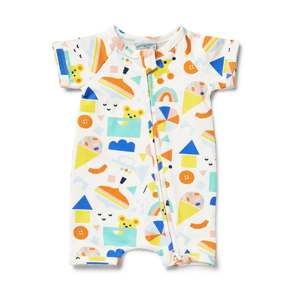 Halcyon Nights SS Zip Suit - Toy Box