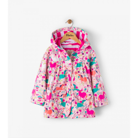 Hatley Raincoat - Roaming Horses
