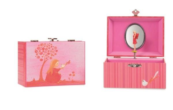 Musical Jewellery Box - Pink Princess