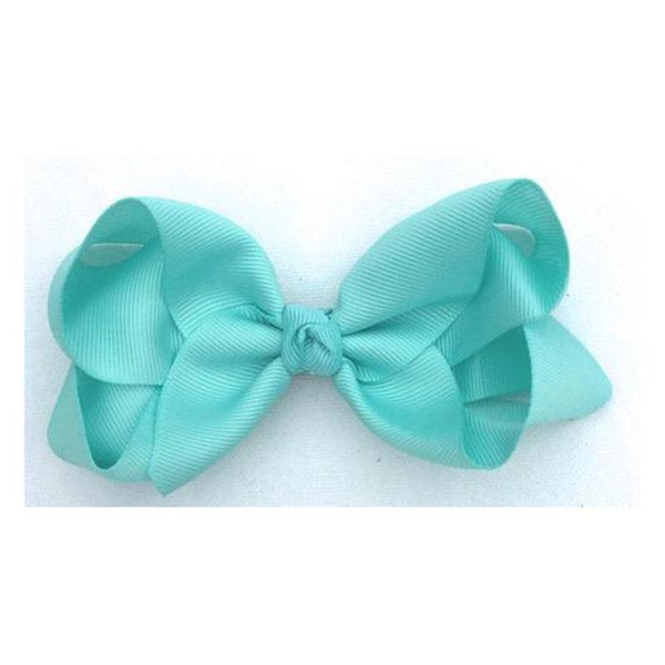 Maisie May Mini Trixie Bow Mini - Aqua