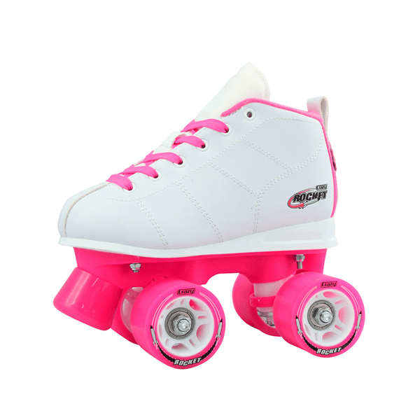 Crazy Skates Rocket Skates - White