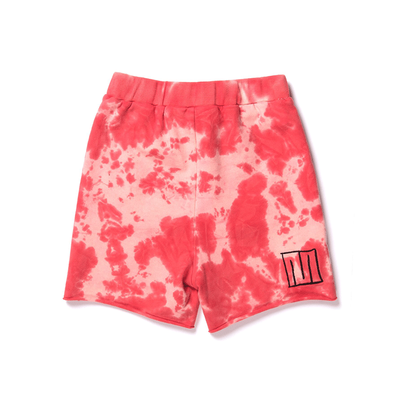 Minti Short - Marble Red