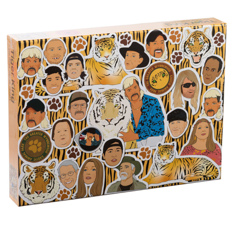 Tiger King: 500 PC Puzzle