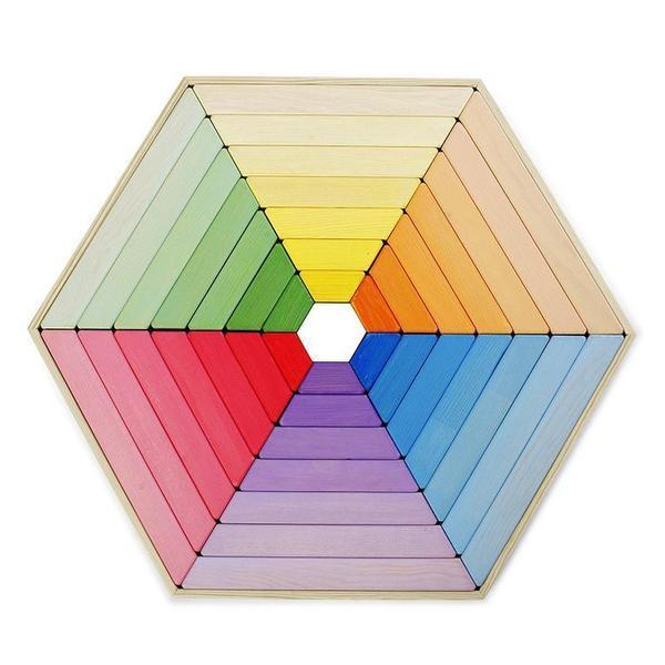Rainbow Extra Large Wooden Puzzle