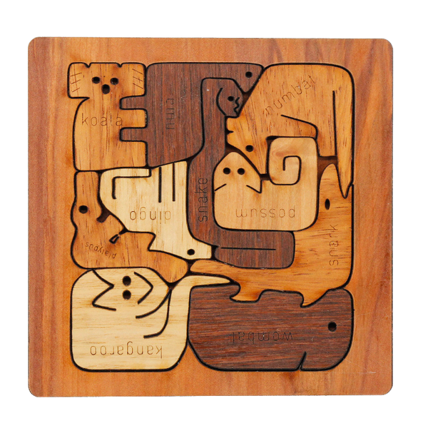 Buttonworks Puzzle - Square Animal