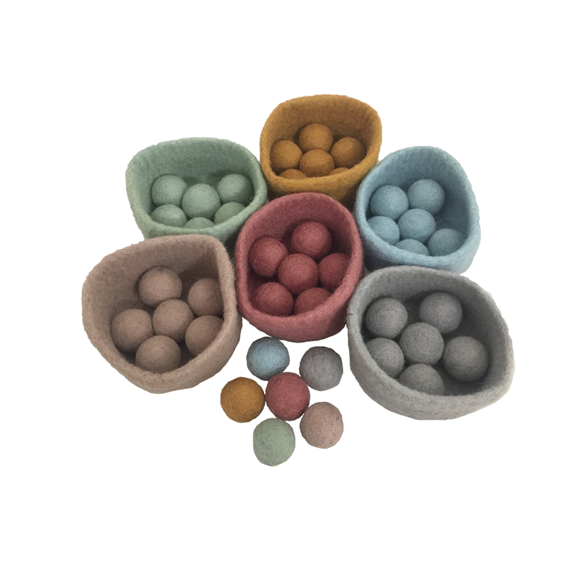 Papoose Earth Ball-Bowl Set/48 pieces