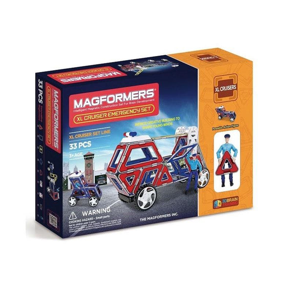 Magformers XL Cruiser Emergency