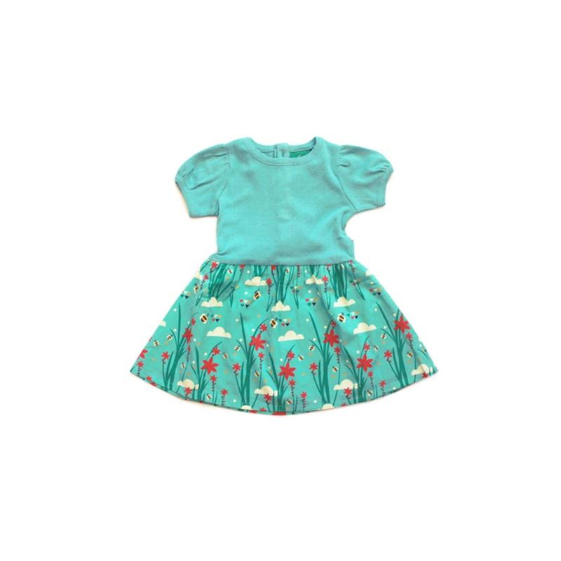 Little Green Radicals Cornish Copper Peter Pan Dress