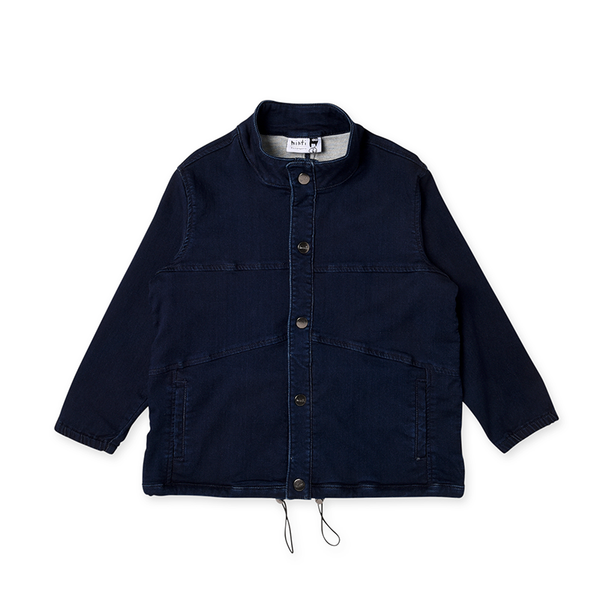 Minti Denim Anorak - Dark Blue Denim