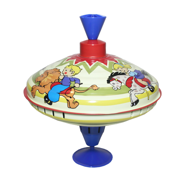 Humming Spinning Top - Playtime Carousel - 19cm