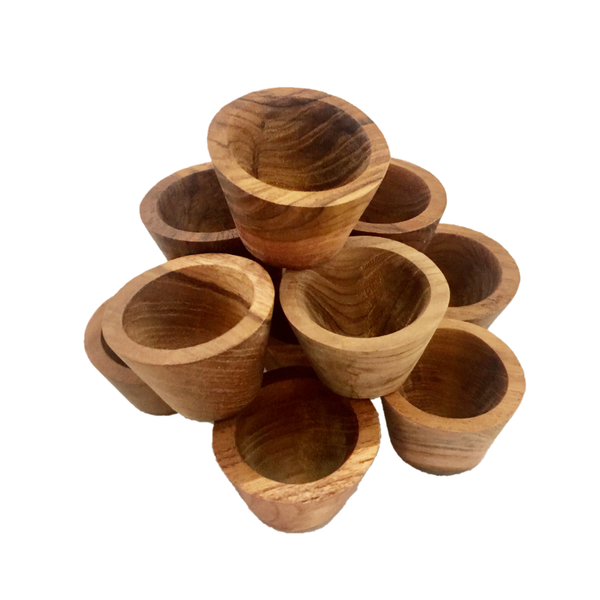 Small Bowls Natural 12PC