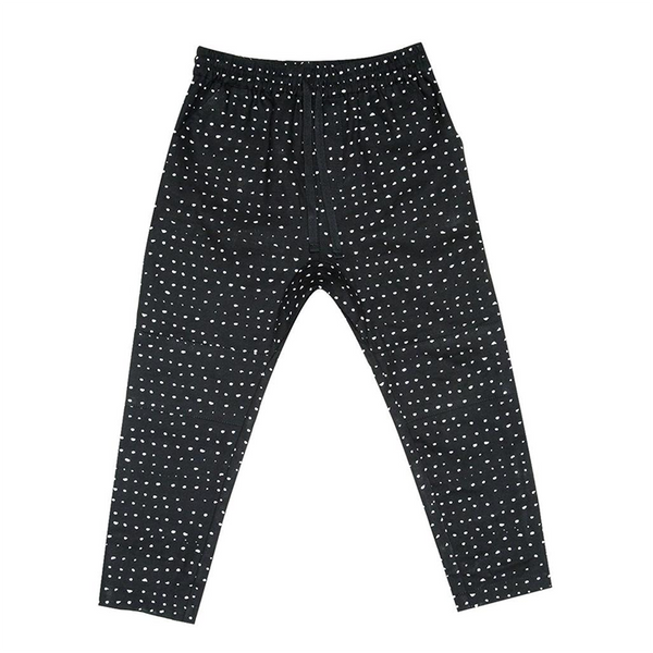 Zuttion Low Crotch Trackie Pants - Random Dot