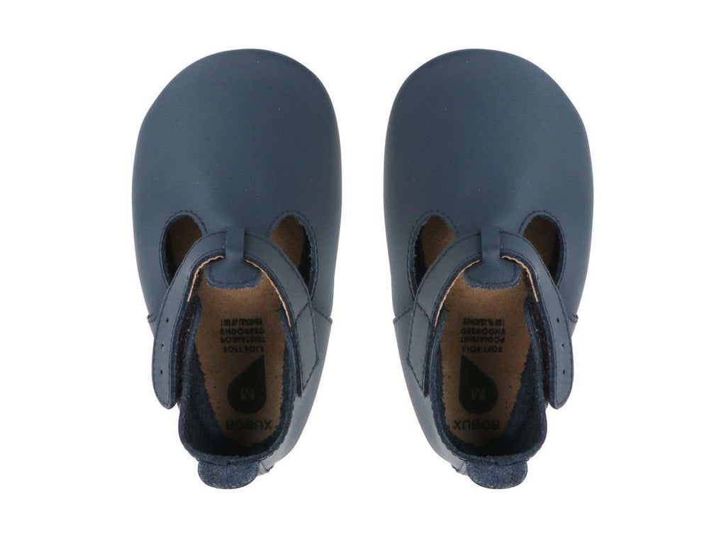 Bobux Soft Sole Jack & Jill Navy