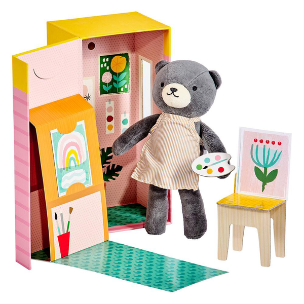 Petit Collage Playset - Beatrice The Bear