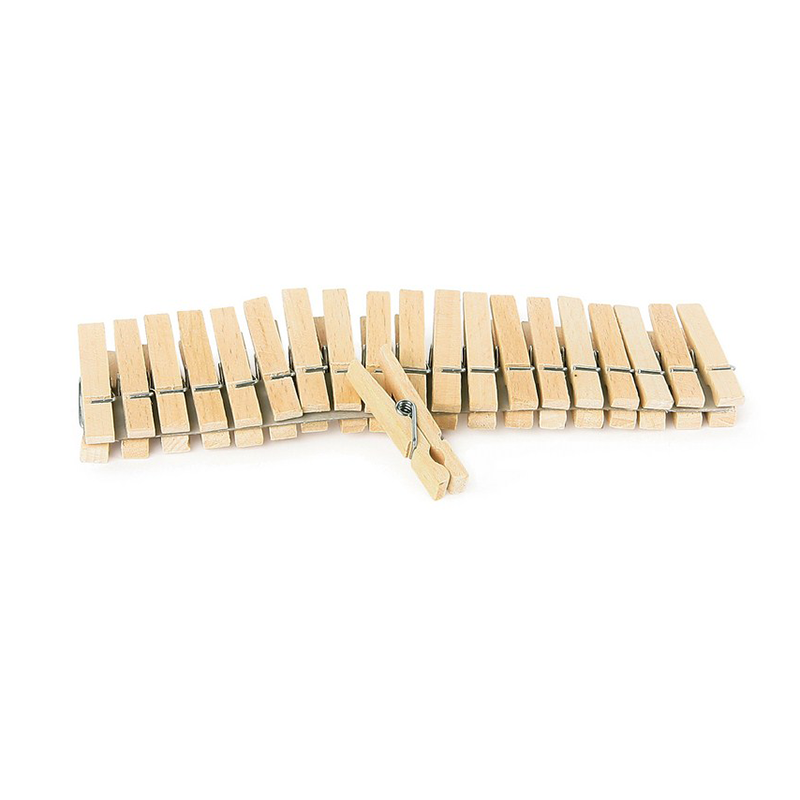 Wooden Pegs - 10 Pack