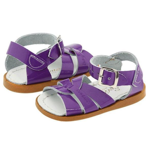 Saltwater Sandals - Patent Purple