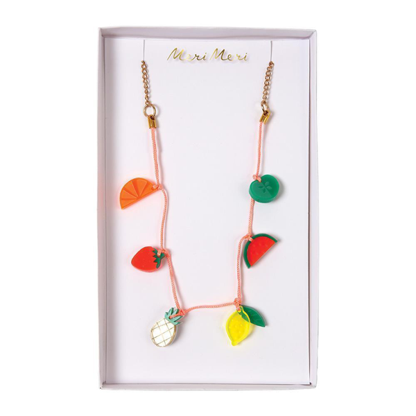 Meri Meri Necklace - Fruit Charm