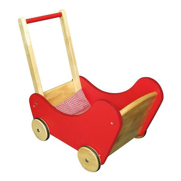Viga Doll Buggy - Red