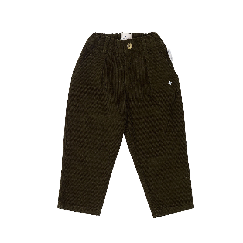 Goldie & Ace Cord Mini Chino - Olive