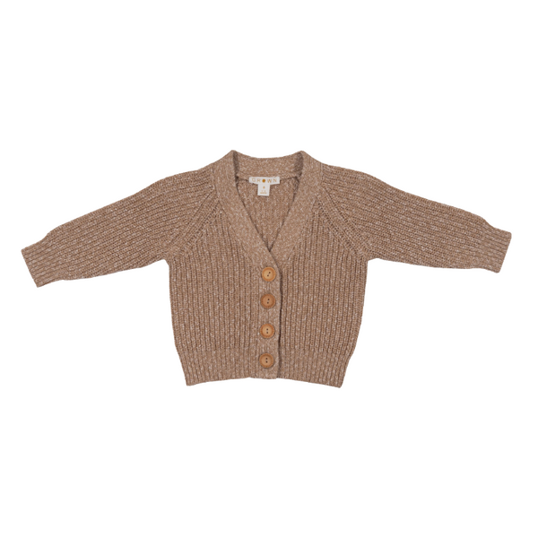 Grown Chunky Cardigan - Ecru